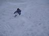 大雪渓をシリセード