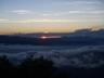テン場から見えた日の出