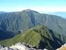 山頂から見えた仙丈ヶ岳