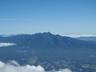山頂から見えた八ヶ岳