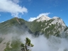 仙水峠から見上げた甲斐駒ヶ岳